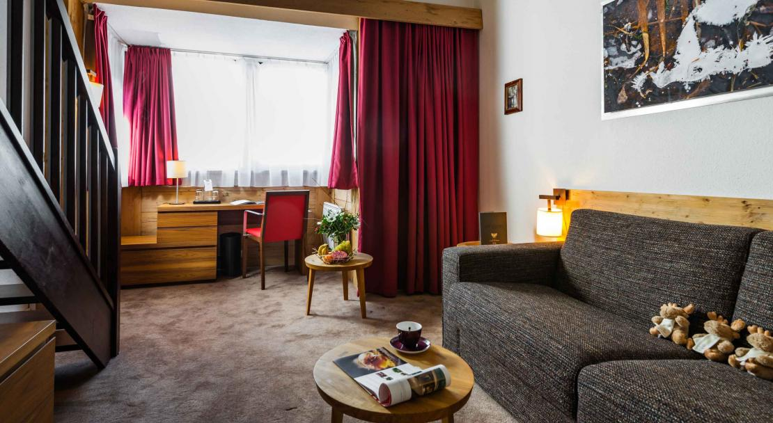 Hotel Aigles De Neiges Val D'Isere Junior suite