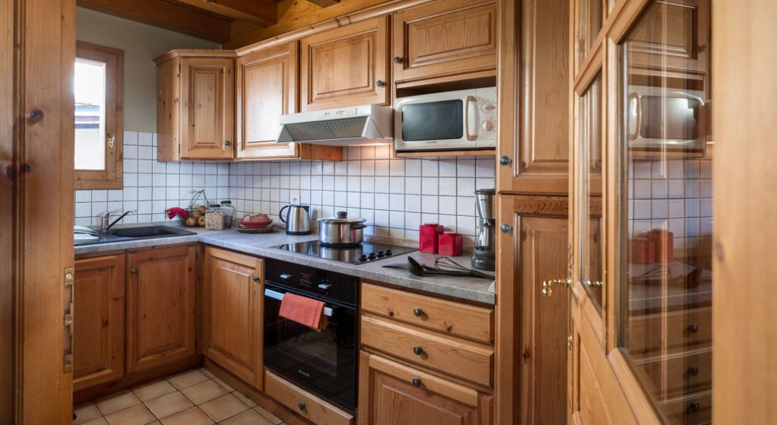 kitchen le vallon belle plagne