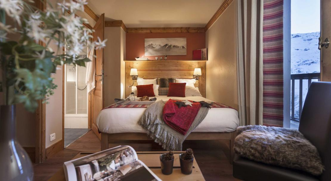 Sapiniere Les Menuires Double Bedroom 2
