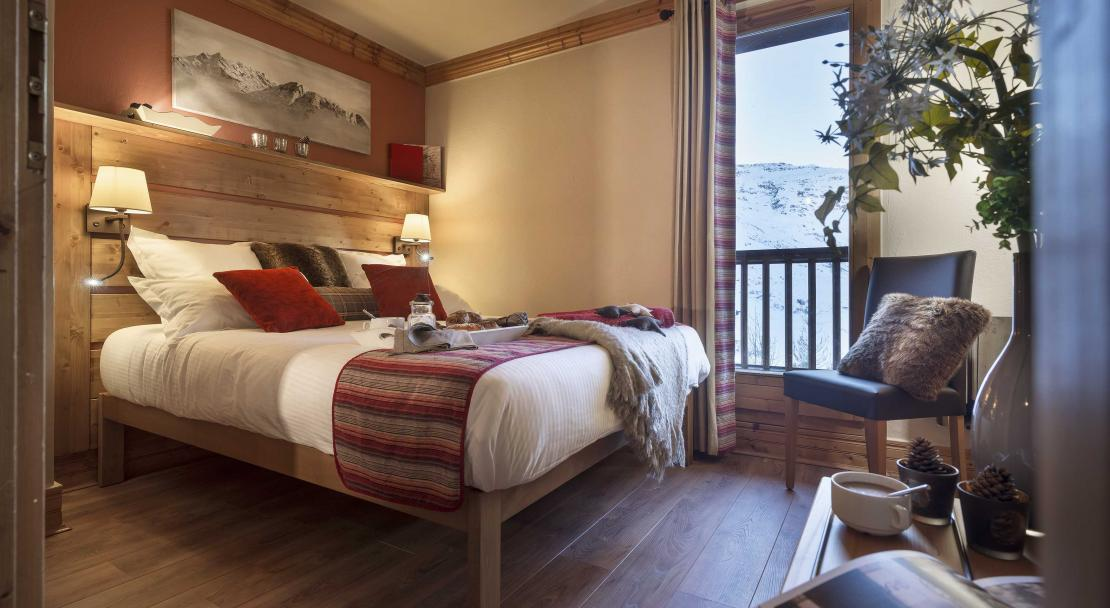 Sapiniere Les Menuires Double Bedroom