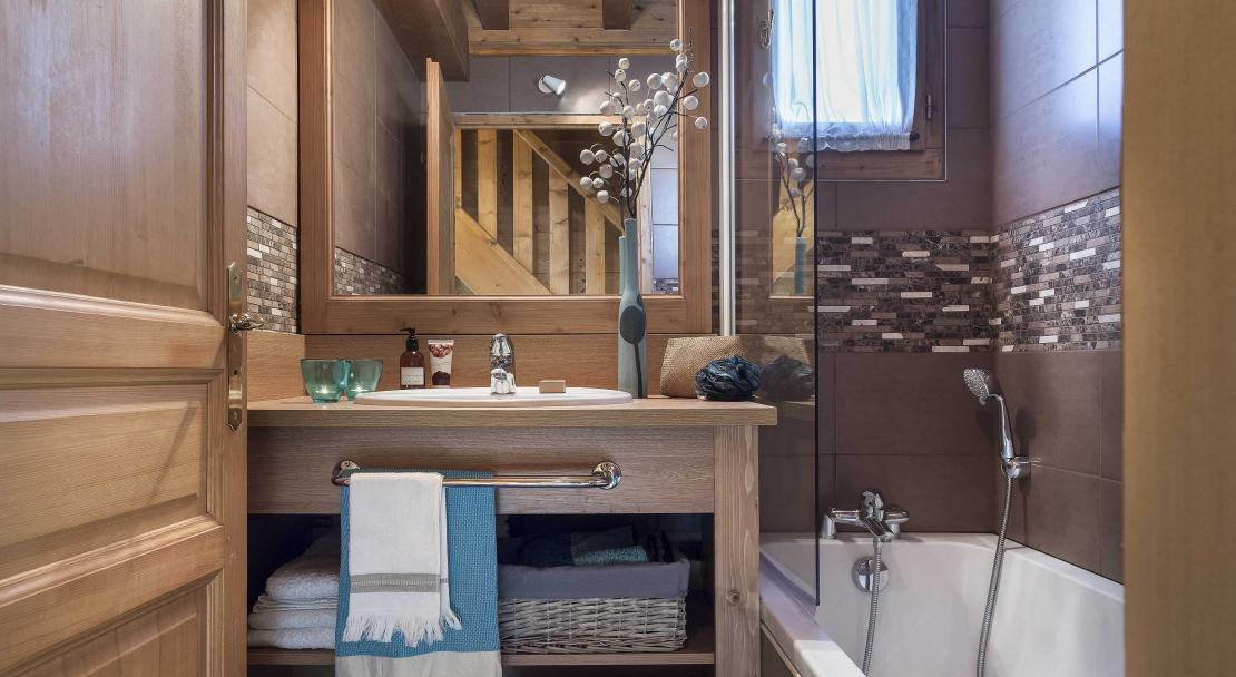 Chalet Lombarde Val Thorens Bathroom