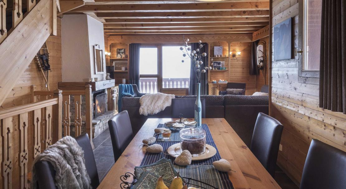 Chalet Lombarde Val Thorens Dining Room