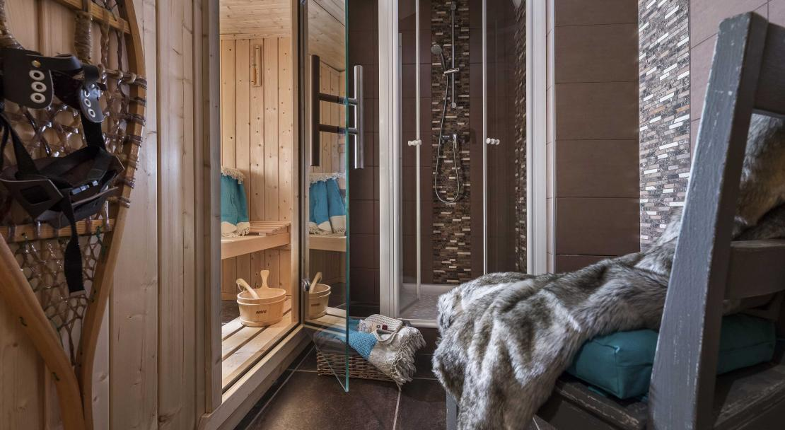 Chalet Lombarde Val Thorens Sauna