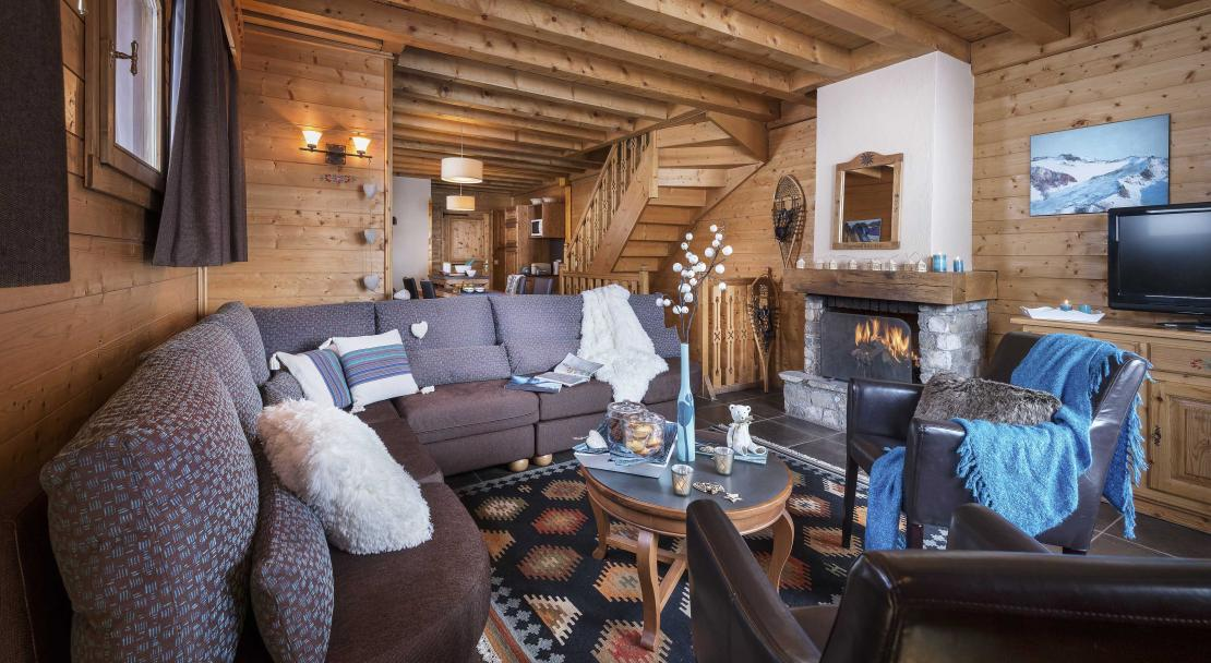 Chalet Lombarde Val Thorens Sitting Room
