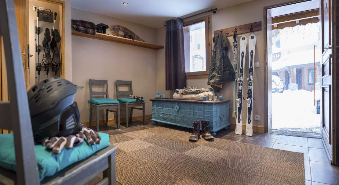 Chalet Lombarde Val Thorens Ski Room