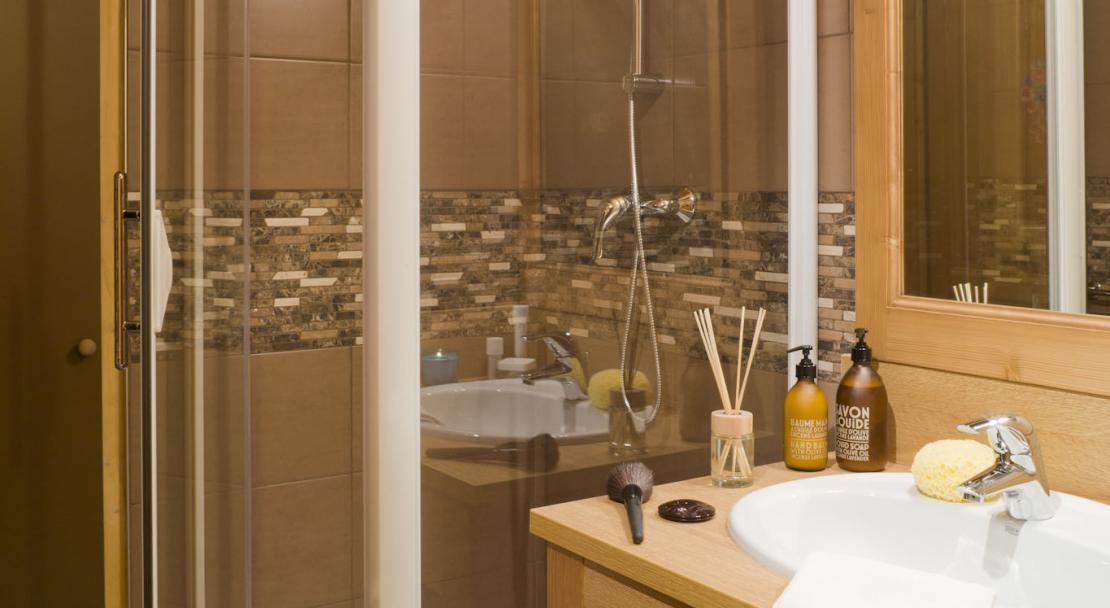 Bathroom in Chalets de la Lombarde Val Thorens