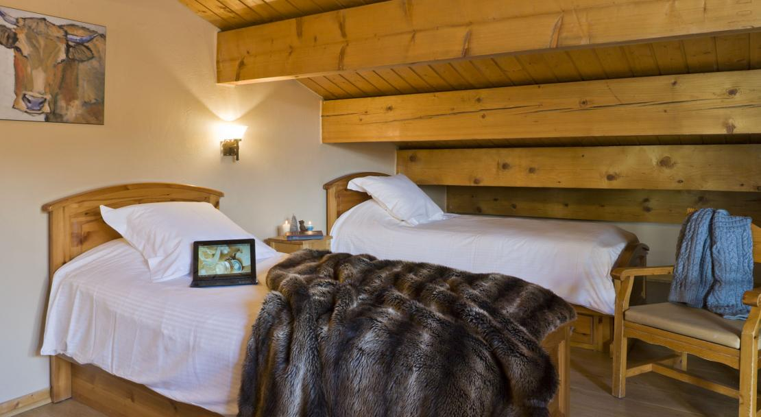 Attic room in Chalets de la Lombarde Val Thorens
