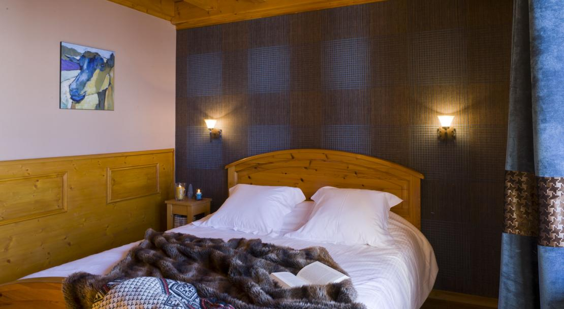 Bedroom in Chalets de la Lombarde Val Thorens
