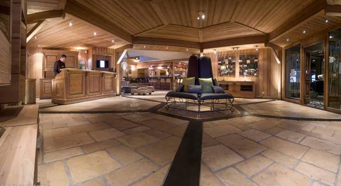 Reception of Residence L'Oxalys in Val Thorens