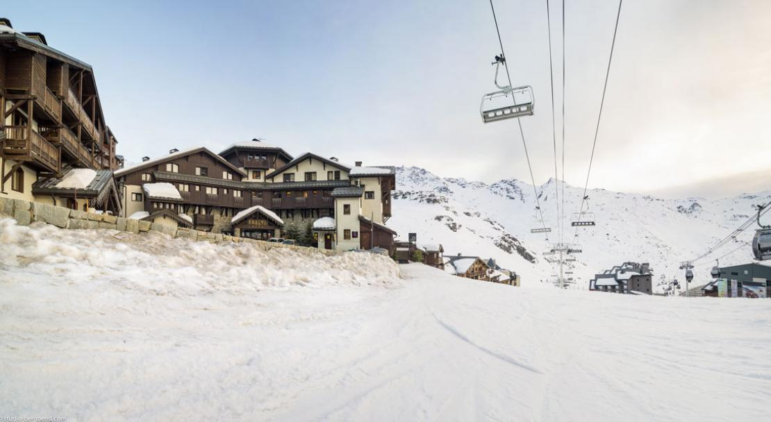 Residence L'Oxalys Val Thorens Exterior View