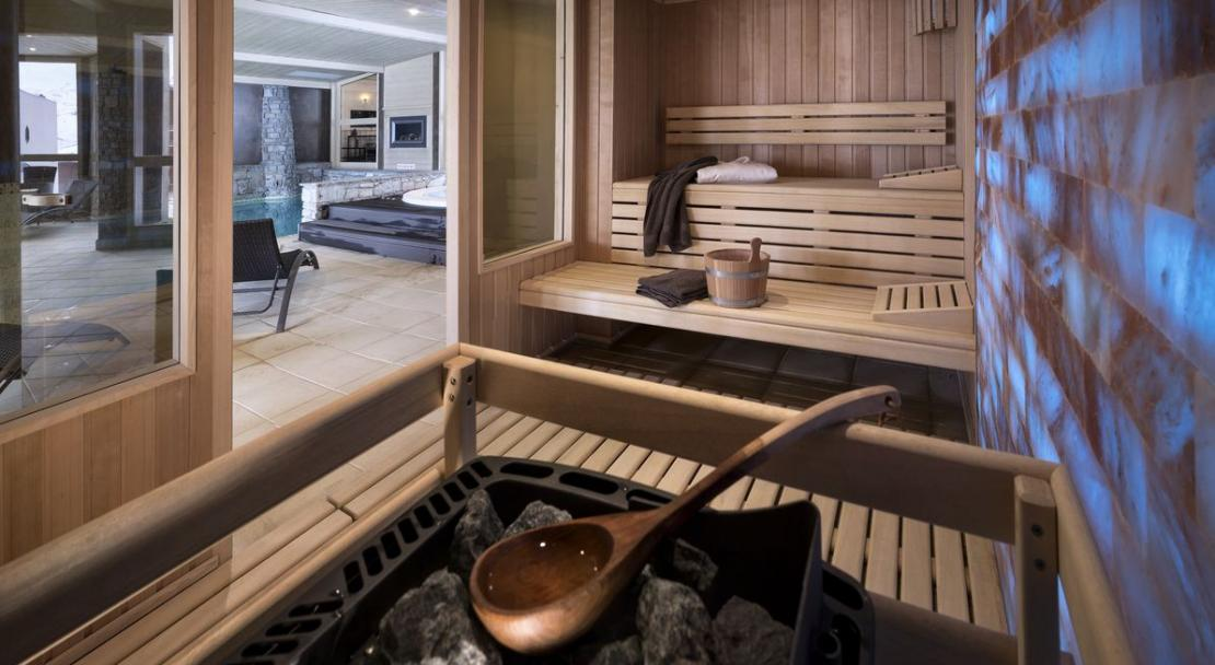 Residence L'Oxalys Val Thorens Sauna