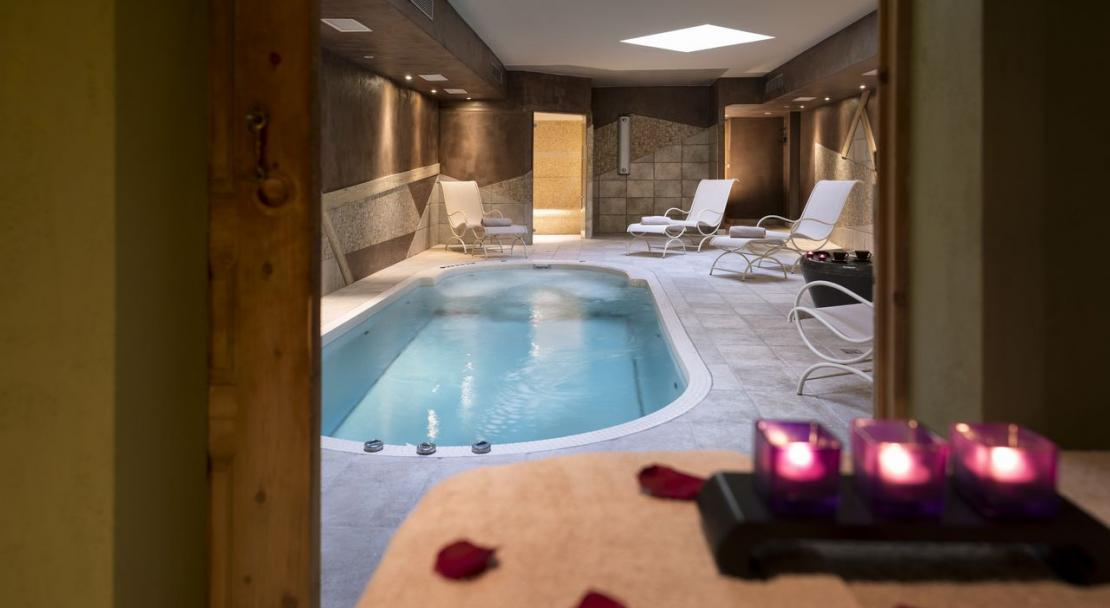 Spa in th Residence L'Oxalys Val Thorens