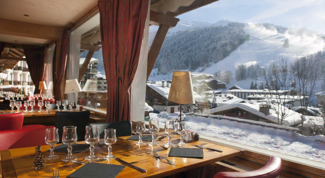 Restaurant in Hotel Beaulieu La Clusaz