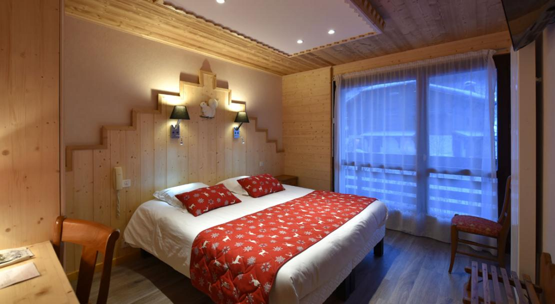 Double room Hotel Le Soly Morzine