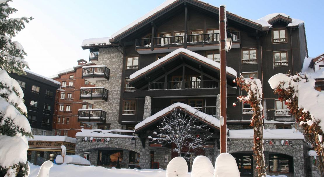 Exterior of Hotel Avenue Lodge Val d'Isere