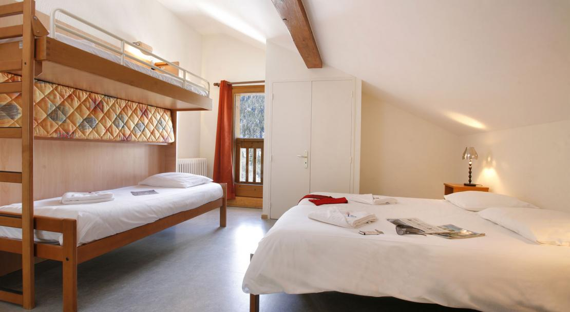 Hotel Le Genepi - Bedroom Type 2