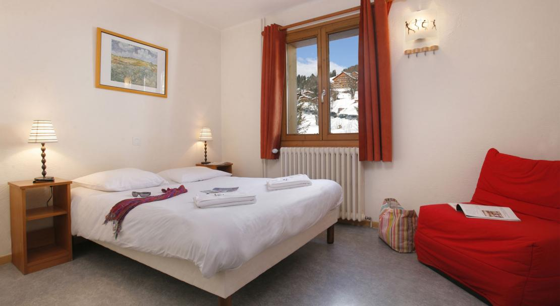 Hotel Le Genepi - Bedroom Type 3