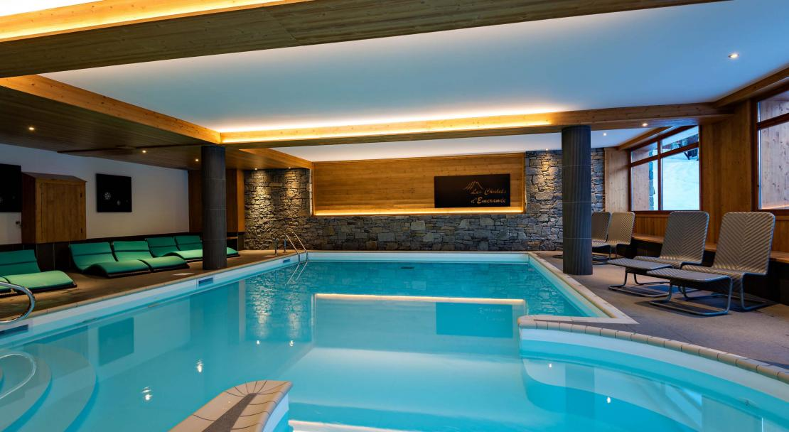 Chalets d'Emeraude Les Saisies Swimming Pool