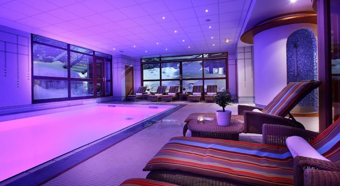 Hotel Christiania - pool - Val d'Isere