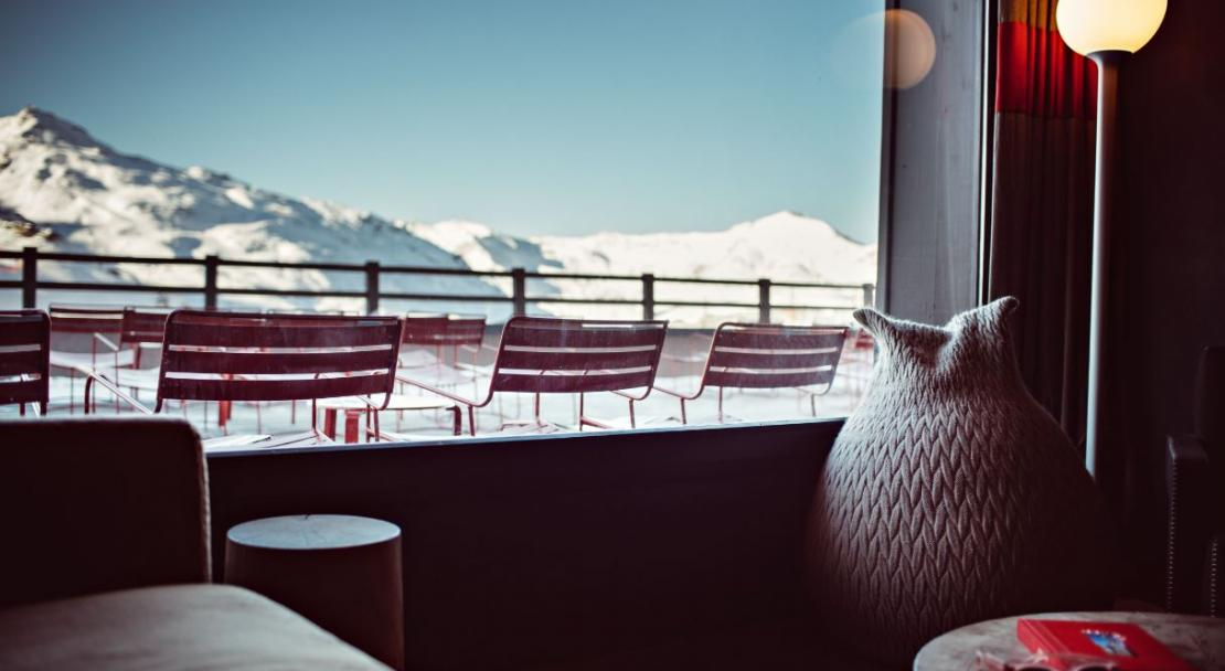 hotel val thorens lounge