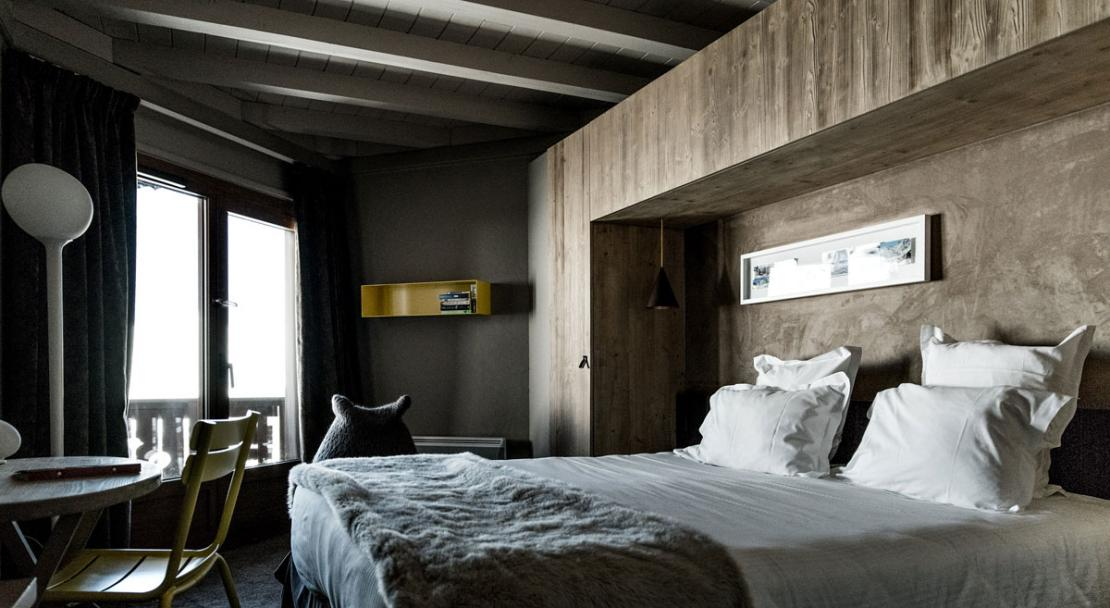 Hotel Le Val Thorens Privilege Bedroom