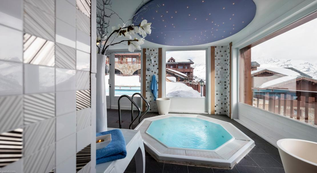 Spa at Hotel Village Montana Tignes; Copyright: Studio Bergoend