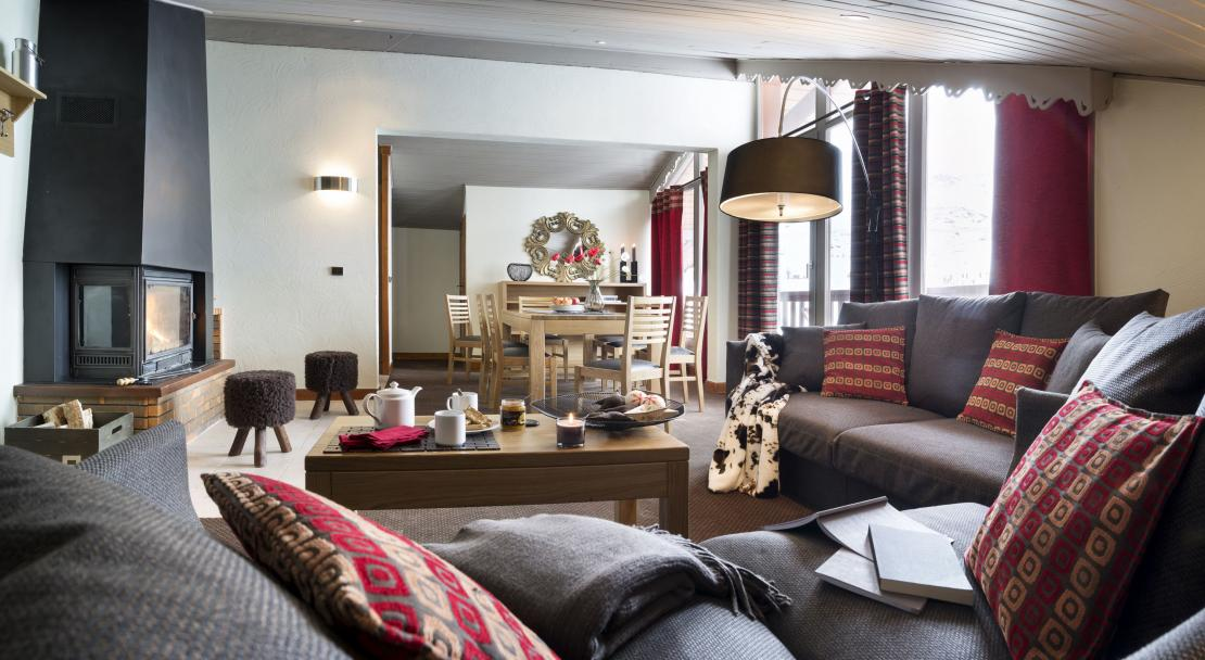 Apartment at Residence Village Montana Val Thorens; Copyright: Laurie Verdier