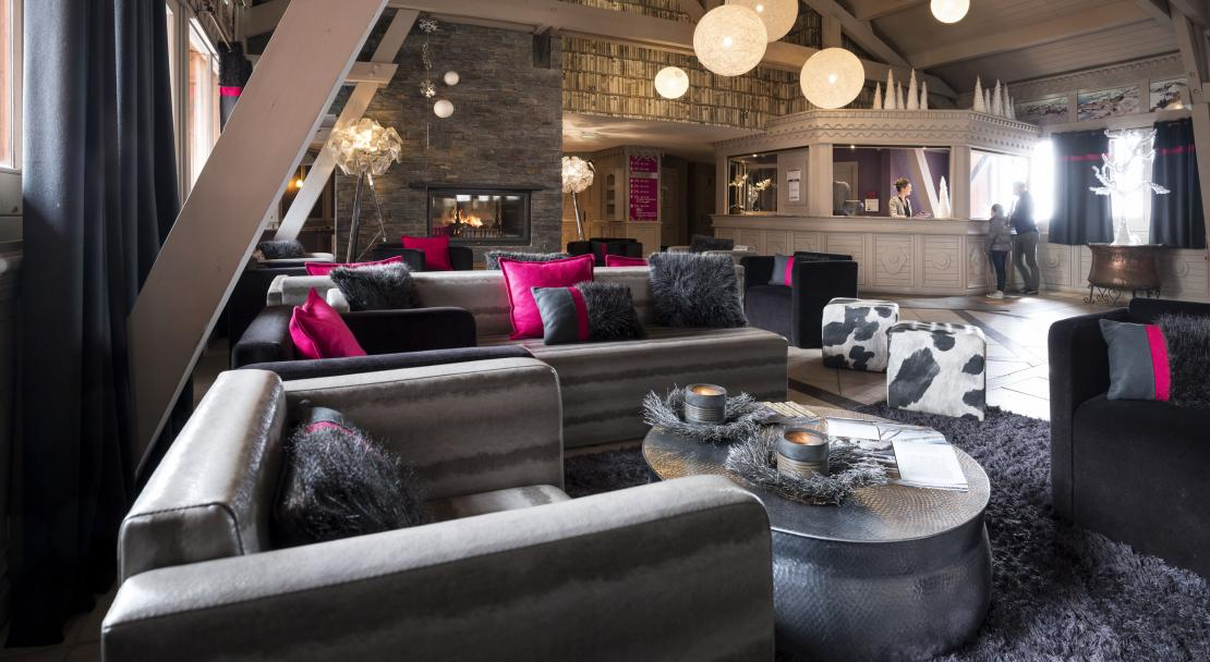 Lounge at Residence Village Montana Val Thorens; Copyright: Laurie Verdier
