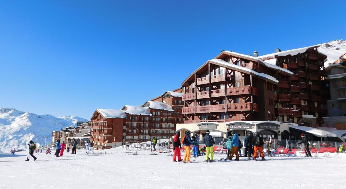 Exterior at Residence Village Montana Val Thorens; Copyright: Laurie Verdier