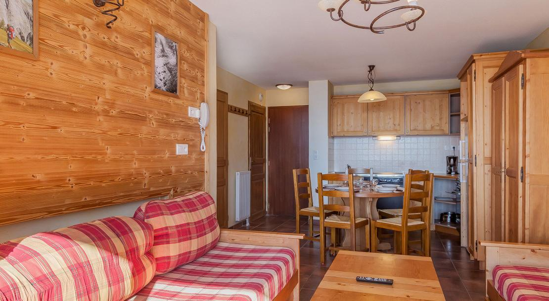 Les Balcons de la Rosiere - Living and dining area