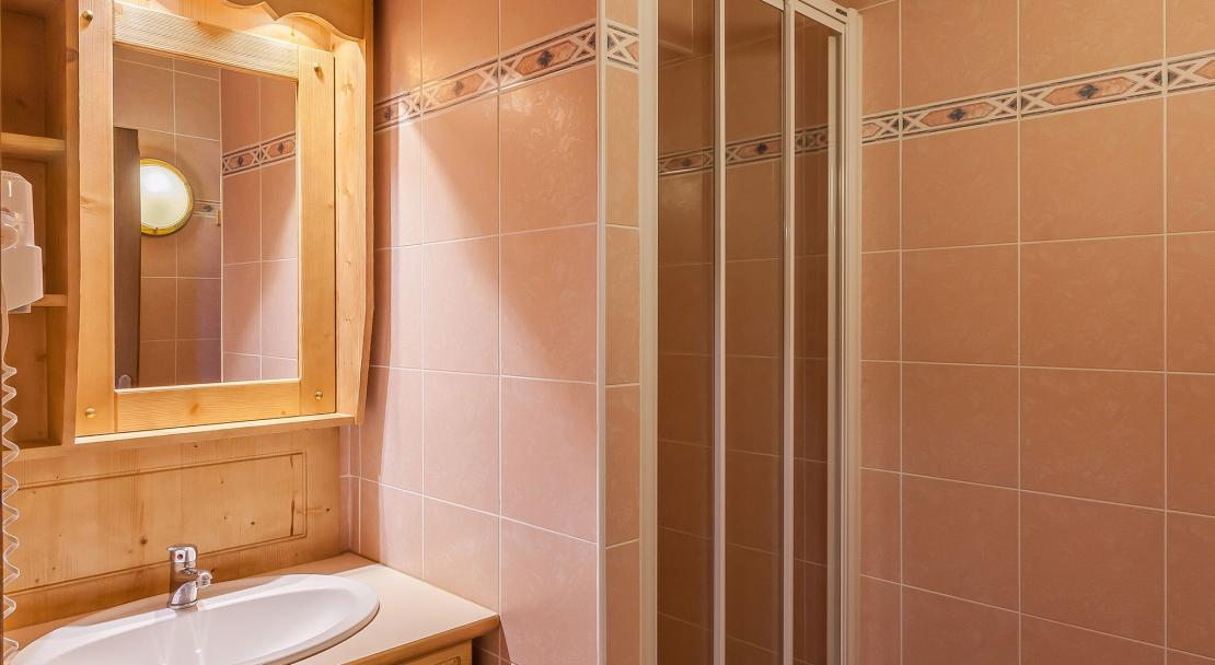 Les Balcons de la Rosiere - shower room