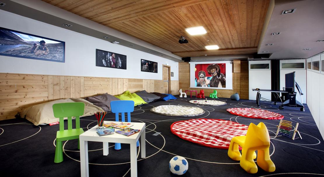 Children's playroom Hotel Koh-I Nor Val Thorens