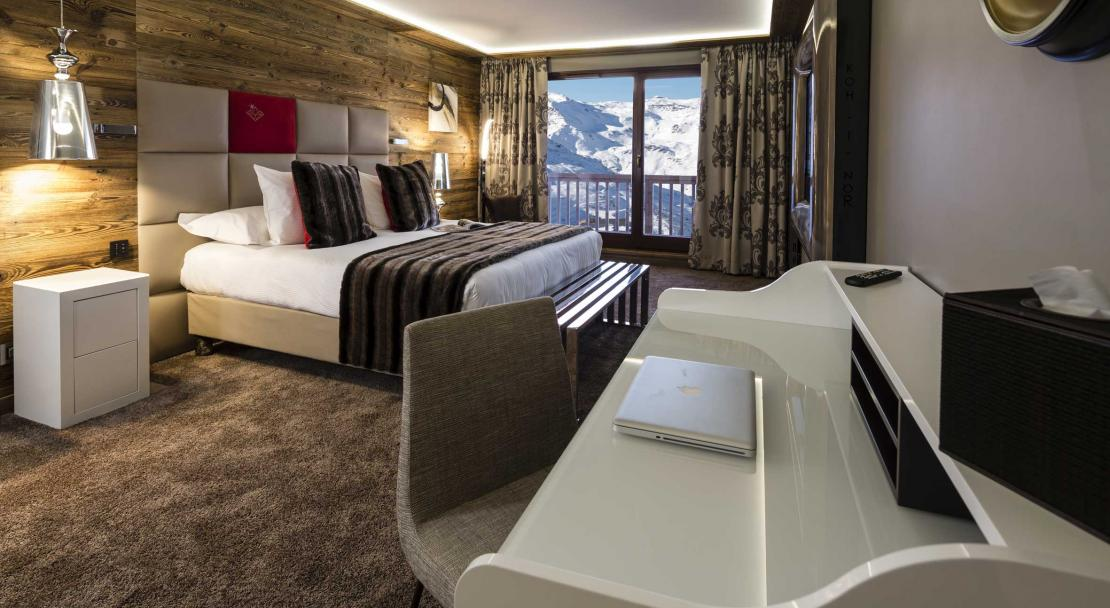 Hotel Koh I Nor Val Thorens Chambre-Luxe-36-m²