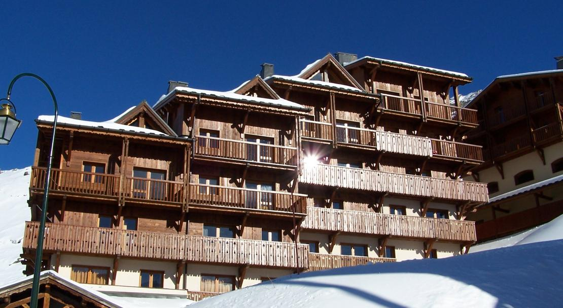 Exterior of Hermine Chalet des Neiges in Val Thorens