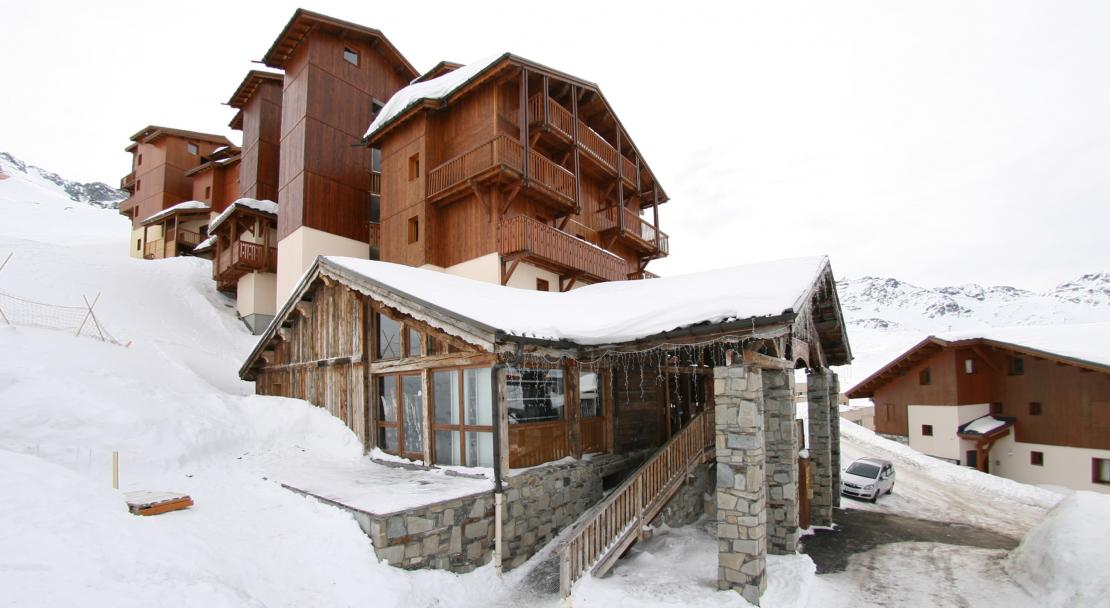 Exterior of the Hermine Chalet des Neiges Val Thorens