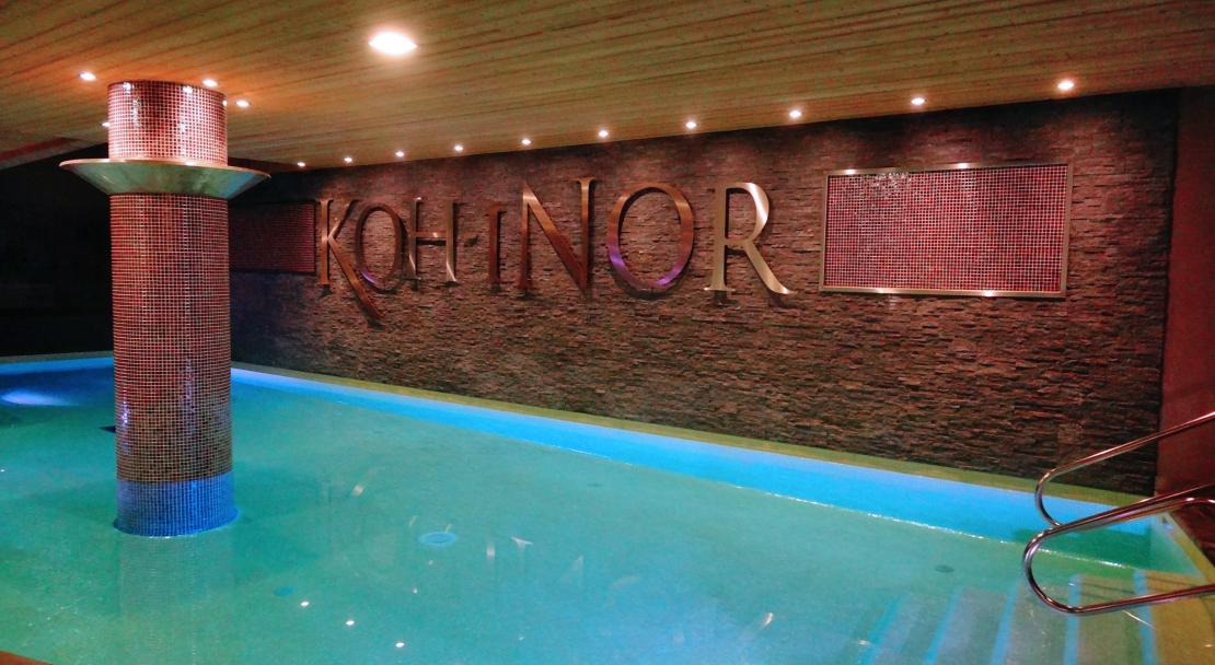 Koh I Nor Val Thorens Swimming Pool
