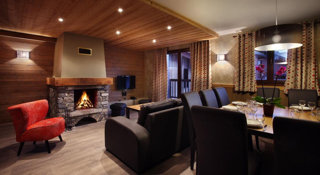 Apartment with Fireplace - Arolles - Les Arcs