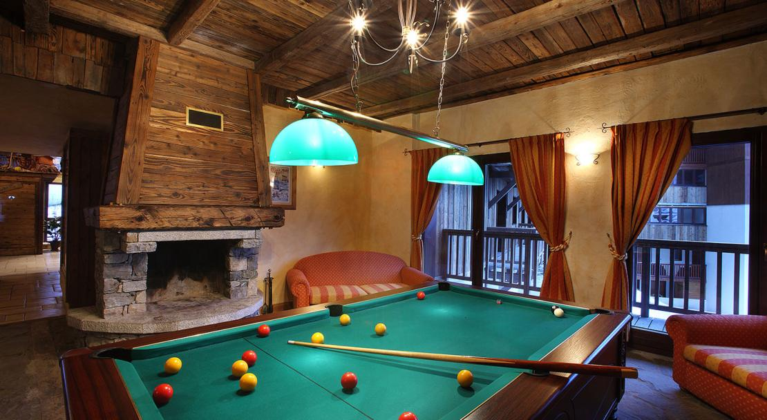 Pool Table - Arolles - Les Arcs