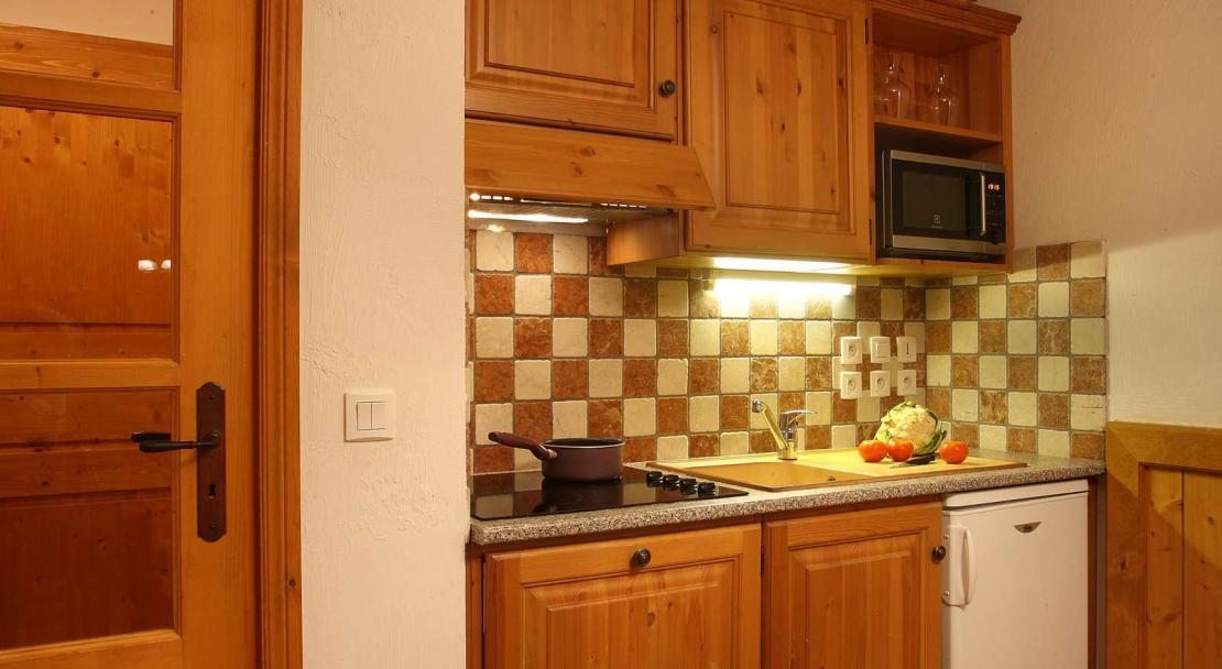Apartment kitchen in Oz en Oisans