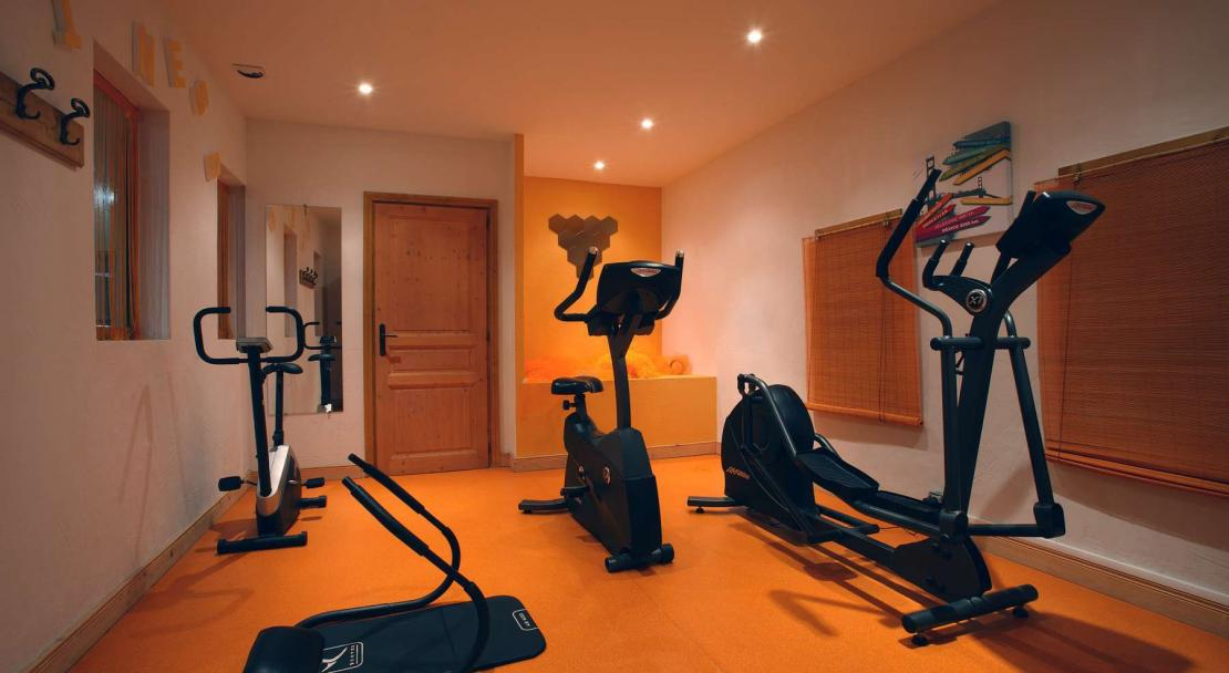 Fitness Room in Oz en Oisans