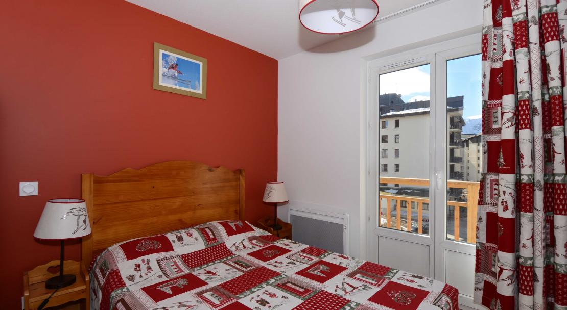 Double Bedroom L'Ours Blanc Les 2 Alpes
