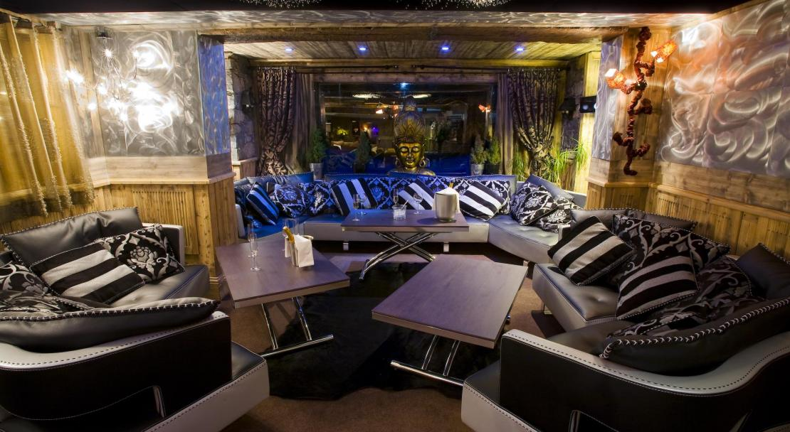 Lounge area in Hotel Le Brussels Val d'Isere