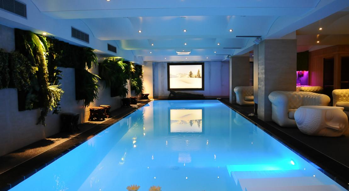 Indoor Pool in Hotel Le Brussels Val d'Isere