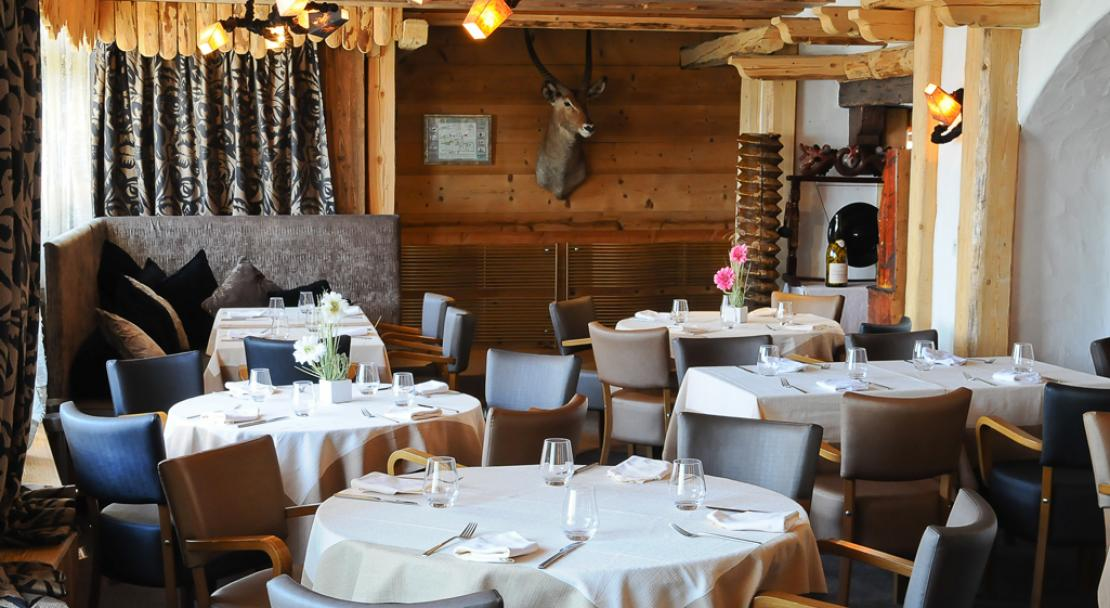 Restaurant Dining in Hotel Le Brussels Val d'Isere