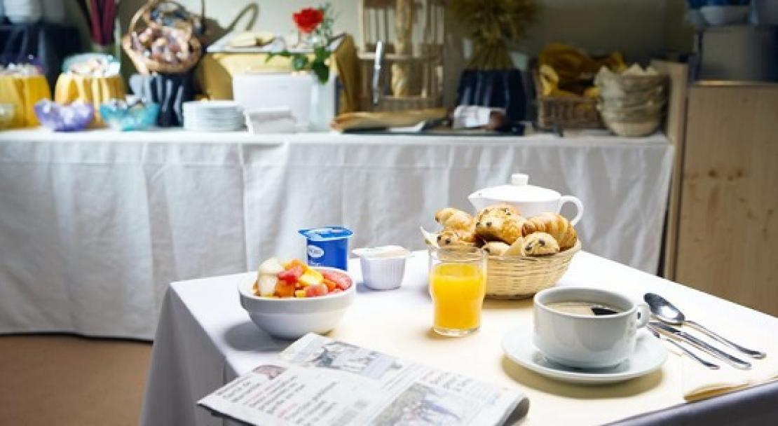 Breakfast Buffet at Le Parc Hotel, Serre Chevalier