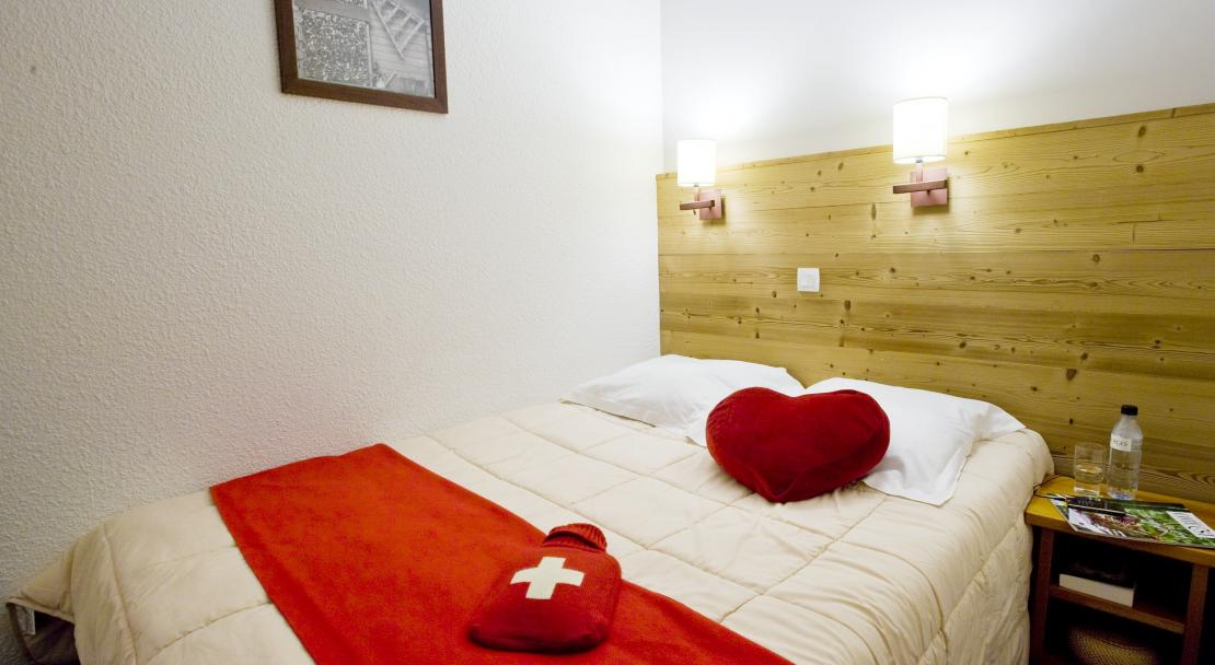 Bedroom at Les Constellations P&V La Plagne