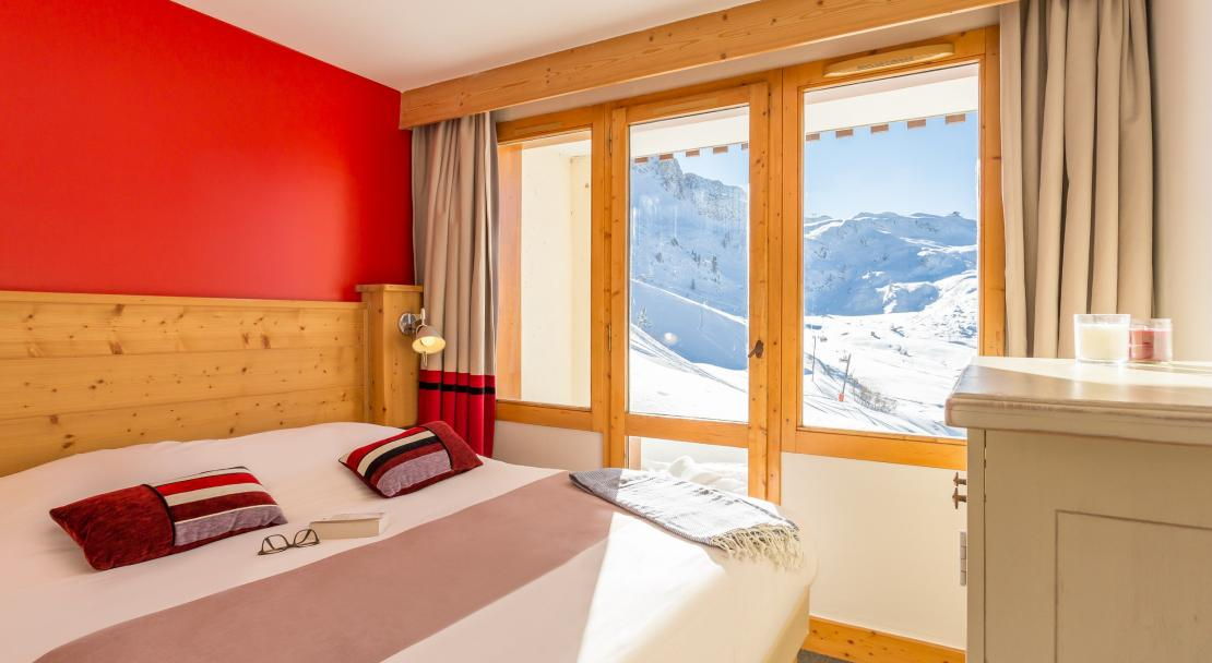 Double bedroom at Les Nereides P&V