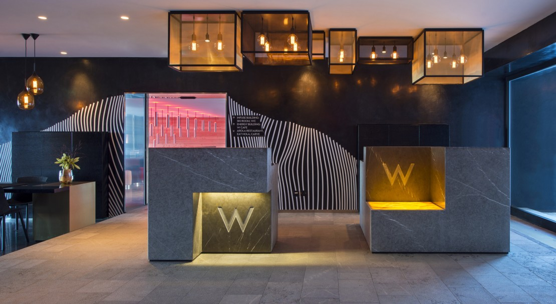 Welcome area W Verbier; Copyright: W Verbier