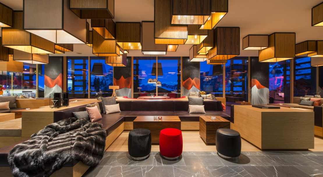 Living room at W Verbier; Copyright: W Verbier