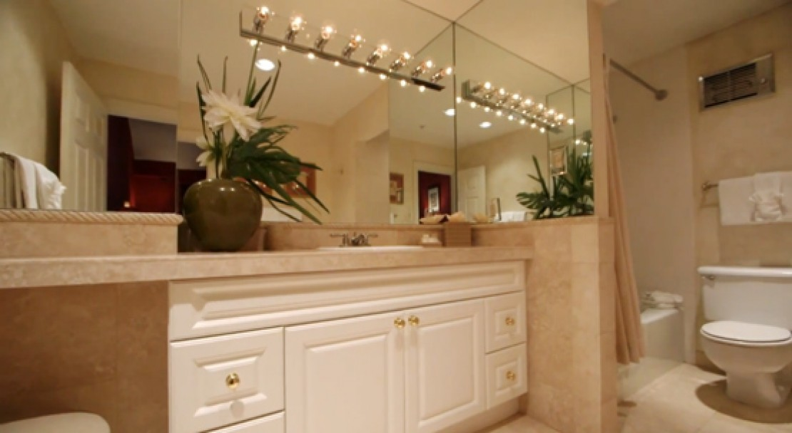 Bathroom at the Evergreen Lodge - Vail